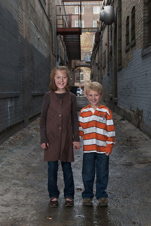 family portraits of the Plute family in downtown SLC Utah - Leo got his 'rock' on in the alley - love it!