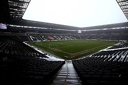 A general view of StadiumMK ahead of the Sky Bet League One match between Milton Keynes Dons and Bristol Rovers - Mandatory by-line: Robbie Stephenson/JMP - 03/03/2018 - FOOTBALL - Stadium MK - Milton Keynes, England - Milton Keynes Dons v Bristol Rovers - Sky Bet League One