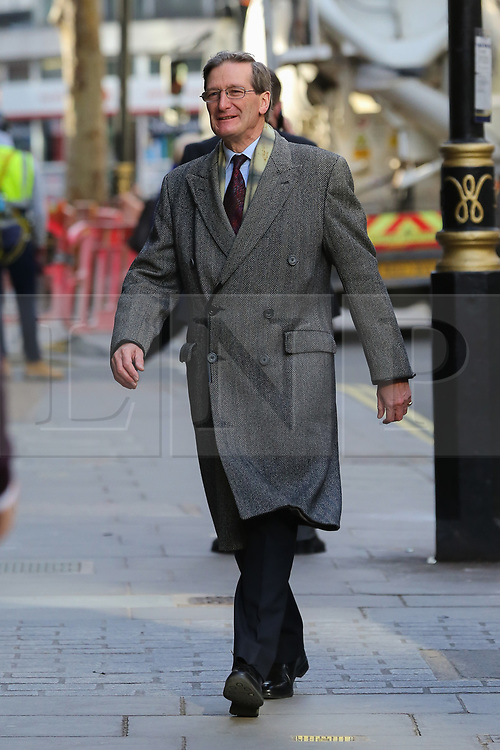 © Licensed to London News Pictures. 30/10/2019. London, UK. DOMINIC GRIEVE MP arrives for Best for Britain press conference in Westminster where a study of how the UK will vote on 12 December 2019 UK general election, showing how many seats each party are projected to win will be highlighted. Photo credit: Dinendra Haria/LNP