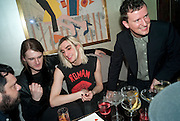 GARETH PUGH; CARSTEN MCALL; BEN REARDON, GQ Style party, The Bassoon Bar , The Corinthia Hotel, Whitehall Place London. 15 March 2011.  -DO NOT ARCHIVE-© Copyright Photograph by Dafydd Jones. 248 Clapham Rd. London SW9 0PZ. Tel 0207 820 0771. www.dafjones.com.