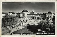 Zagreb. : Kolodvor. <br /> <br /> ImpresumZagreb : Foto-Material od t. t. Griesbach i Knaus, [između 1929. i 1941.].<br /> Materijalni opis1 razglednica : tisak ; 9,1 x 14 cm.<br /> NakladnikFotoveletrgovina Griesbach i Knaus (Zagreb)<br /> Mjesto izdavanjaZagreb<br /> Vrstavizualna građa • razglednice<br /> ZbirkaGrafička zbirka NSK • Zbirka razglednica<br /> Formatimage/jpeg<br /> PredmetZagreb –– Trg kralja Tomislava<br /> SignaturaRZG-TOM-32<br /> Obuhvat(vremenski)20. stoljeće<br /> NapomenaRazglednica nije putovala. • Na poleđini razglednice iznad razdjelne linije otisnut je monogram GLZ, vjerojatno Ljudevit Griesbach kao autor fotografije po kojoj nastaje razglednica.<br /> PravaJavno dobro<br /> Identifikatori000953634<br /> NBN.HRNBN: urn:nbn:hr:238:460872 <br /> <br /> Izvor: Digitalne zbirke Nacionalne i sveučilišne knjižnice u Zagrebu