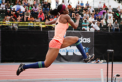 Samsung Diamond League adidas Grand Prix track & field; Womens Triple Jump, Blessing Ufodiama, USA