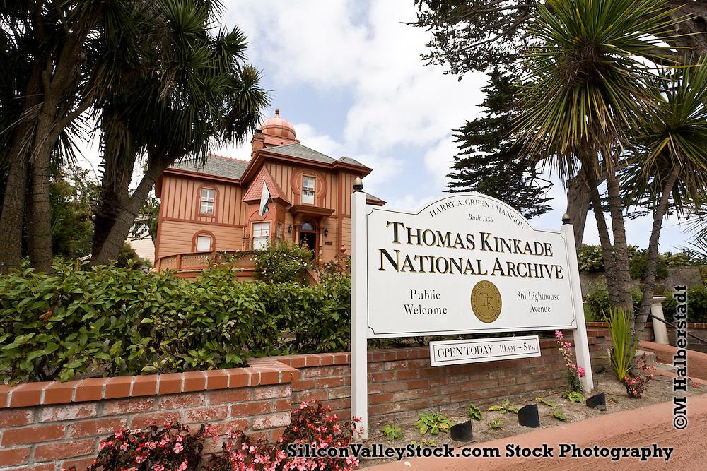 Thomas Kinkade National Archive, Monterey, CA, USA