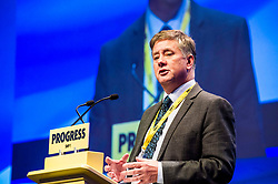 Pictured: Keith Brown, Cabinnet Secretary for Economy, Jobs and Fair Work<br /> The members of the SNP gathered in the Scottish Events Centre in Glasgow for their annual conference.<br /> <br /> Ger Harley | EEm 10 October 2017