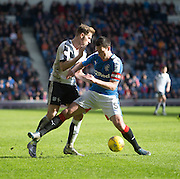 Dundee&rsquo;s Greg Stewart and Rangers&rsquo; Lee Wallace - Rangers v Dundee, William Hill Scottish Cup quarter final at Ibrox Park<br /> <br />  - &copy; David Young - www.davidyoungphoto.co.uk - email: davidyoungphoto@gmail.com