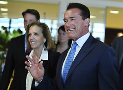 59895728  <br /> U.S. actor and former Governor of California Arnold Schwarzenegger arrives for a meeting with European Commission President Jose Manuel Barroso (not seen) at the European Union headquarters in Brussels, capital of Belgium, Monday June 24, 2013.  Picture by imago / i-Images<br /> UK ONLY