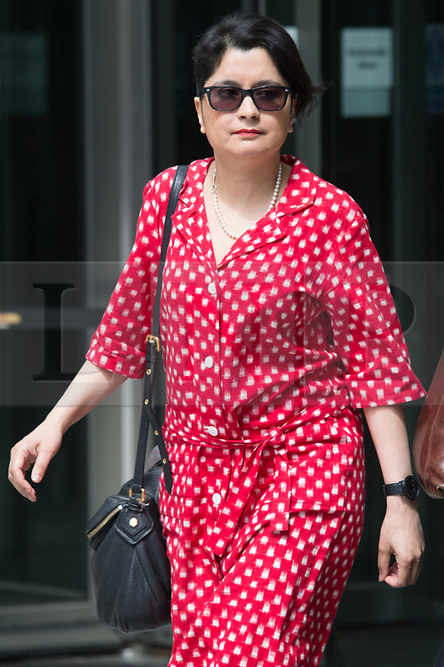© Licensed to London News Pictures. 26/05/2019. London, UK. SHAMI CHAKRABARTI is seen leaving BBC Broadcasting Houses in London. A number of Conservative MPs have entered the race to be the new leader of the party. Photo credit: George Cracknell Wright/LNP