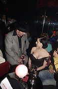 Dita von Teese. Agent Provocateur: Dirty Stop Out -  web site launch party. Too 2 Much, 11-12 Walkers Court, London, W1, 13 September 2005. ONE TIME USE ONLY - DO NOT ARCHIVE  © Copyright Photograph by Dafydd Jones 66 Stockwell Park Rd. London SW9 0DA Tel 020 7733 0108 www.dafjones.com
