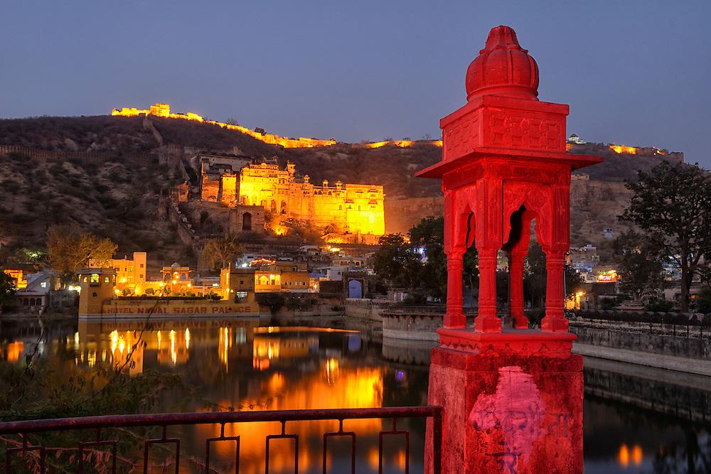 City of Bundi, Rajasthan,India,Asia