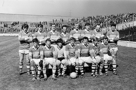 16.05.1971 Football NFL Semi Final Kerry Vs Derry.Kerry Team