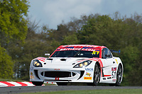 Lanan Racing #51 Ginetta G55 GT4 Alex Reed/David Pittard GT4 Silver during British GT Championship as part of the BRDC British F3/GT Championship Meeting at Oulton Park, Little Budworth, Cheshire, United Kingdom. April 15 2017. World Copyright Peter Taylor/PSP.  Copy of publication required for printed pictures.  Every used picture is fee-liable. http://archive.petertaylor-photographic.co.uk