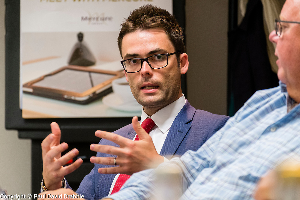 Business Insider Breakfast Property Leaders Round Table at the Mercure St Pauls Hotel &amp; Spa, Sheffield <br /> <br />  21 August 2018<br />  Copyright Paul David Drabble<br />  www.pauldaviddrabble.co.uk