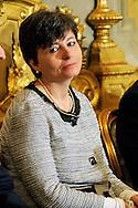 Roma, 28 Aprile  2013.Il governo Letta giura al Quirinale. Maria Chiara Carrozza, Ministro Istruzione e Università..