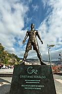 Cerimonia da entrega da medalha de m&eacute;rito da Regi&atilde;o Aut&ocirc;noma da Madeira a Cristiano Ronaldo e e inaugura&ccedil;&atilde;o da estatua na Pra&ccedil;a do Mar, cidade do Funchal.<br /> Foto Greg&oacute;rio Cunha
