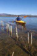 Kayaking on Otter Creek in Salisbury
