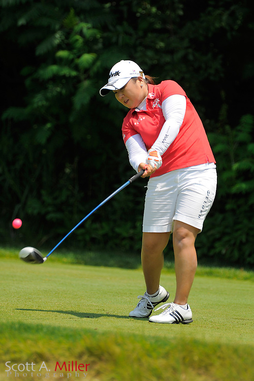 Jeong Jang during the first round of the US Women's Open at Blackwolf Run on July 5, 2012 in Kohler, Wisconsin. ..©2012 Scott A. Miller