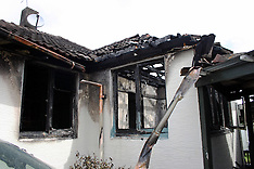 Auckland-Family escapes as fire guts Otahuhu house