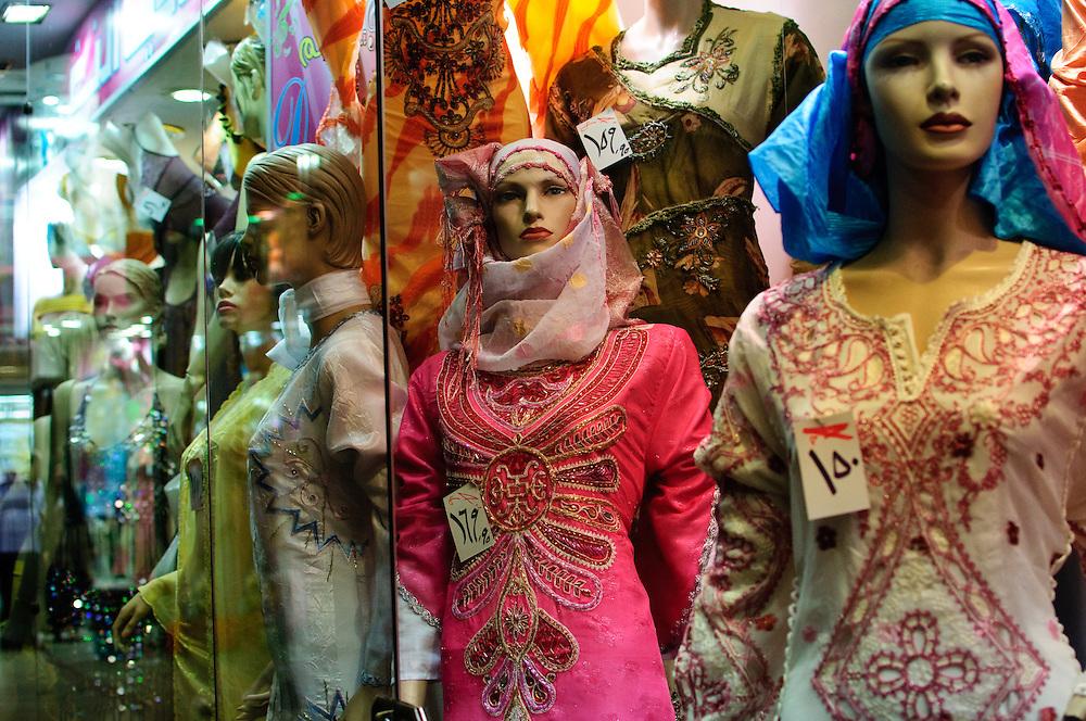 shop windows in Cairo