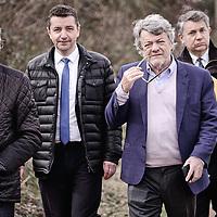 Gael Perdriau reçoit Jean-Louis Borloo à St Etienne