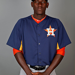 Feb 21, 2013; Kissimmee, FL, USA; Houston Astros pitcher Jose Valdez during photo day at Osceola County Stadium. Mandatory Credit: Derick E. Hingle-USA TODAY Sports