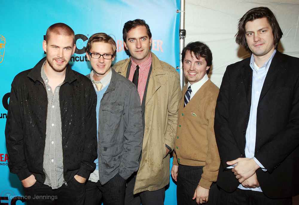 The Whitiest Kids U' Know at The Special IFC and BAFTA hosted event with The Monty Python troupe celebrating the 40th Anniversary and premiere of the IFC documentary ' Monty Python: Almost The Truth (The Lawyer's Cut)' held at The Ziegfield Theater on October 15, 2009