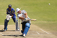 Tiaan Liebenberg during the Pick and Pay Newlands Challenge T20 cricket match between the DHL Stormers and The Cape Cobras held at Newlands Cricket Stadium in Newlands, Cape Town, South Africa on the 19th February 2012..Photo by Ron Gaunt/SPORTZPICS