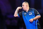 James Richardson during the PDC William Hill World Darts Championship at Alexandra Palace, London, United Kingdom on 15 December 2019.