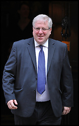 Patrick McLoughlin leaves No10 Downing on the day of the 1st Coalition Government Cabinet reshuffle, London, Tuesday September 4, 2012 Photo Andrew Parsons/i-Images
