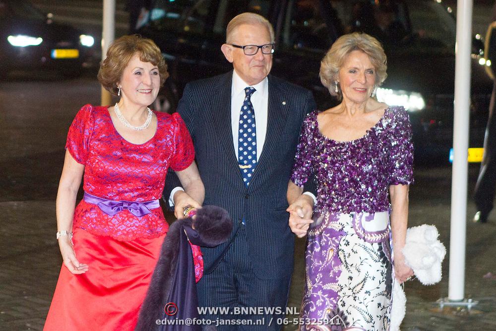 NLD/Rotterdam/20140201 - Beatrix met hart en ziel, Prinses Margriet en partner Pieter van Vollenhoven en prinses Irene