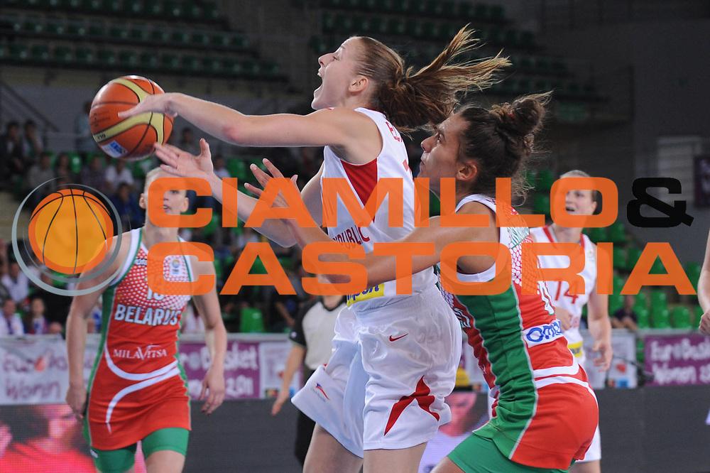DESCRIZIONE : Bydgoszcz Poland Polonia Eurobasket Women 2011 Round 1 Repubblica Ceca Bielorussia Czech Republic Belarus<br /> GIOCATORE : katerina elhotova<br /> SQUADRA : Repubblica Ceca Czech Republic<br /> EVENTO : Eurobasket Women 2011 Campionati Europei Donne 2011<br /> GARA : Repubblica Ceca Bielorussia Czech Republic Belarus<br /> DATA : 20/06/2011 <br /> CATEGORIA : <br /> SPORT : Pallacanestro <br /> AUTORE : Agenzia Ciamillo-Castoria/M.Marchi<br /> Galleria : Eurobasket Women 2011<br /> Fotonotizia : Bydgoszcz Poland Polonia Eurobasket Women 2011 Round 1 Slovacchia Turchia Slovak Republic Turkey<br /> Predefinita :