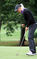 14 August 2014: Suzann Pettersen eyes a putt during the Wegmans LPGA Golf Damen Championship at Monroe Golf Club in Pittsford,