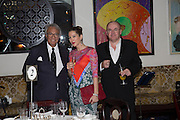 SIR DAVID TANG; , PRINCESS TAMARA CZARTORYSKI; IAN PENMAN, Dinner in aid of the China Tiger Revival hosted by Sir David Tang and Stephen Fry  at China Tang, Park Lane, London. 1 October 2013. ,