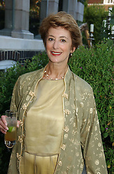 Actress MAUREEN LIPMAN at a party to celebrate FilmFour becoming the UK's first major free film channel held at Debenham House, Addison Road, London on 20th July 2006.<br /><br />NON EXCLUSIVE - WORLD RIGHTS