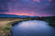 Owens River Sunrise, Owens Valley, California