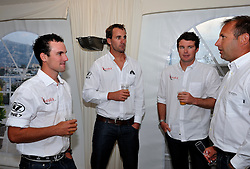 Birthday boy Phil Robertson at the Cocktail party. Photo: Chris Davies/WMRT