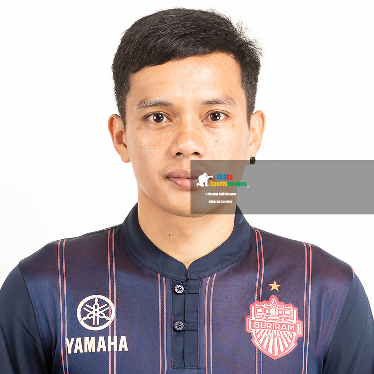 THAILAND - JUNE 26: Korrakot Wiriyadomsiri #11 of Buriram United on June 26, 2019.<br /> .<br /> .<br /> .<br /> (Photo by: Naratip Golf Srisupab/SEALs Sports Images/MB Media Solutions)