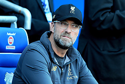 Liverpool manager Jurgen Klopp looks on- Mandatory by-line: Nizaam Jones/JMP - 21/04/2019 -  FOOTBALL - Cardiff City Stadium - Cardiff, Wales -  Cardiff City v Liverpool - Premier League
