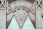 CHICAGO, ARCHITECTURE art deco of 1930's automobile parts