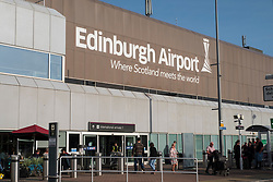 Edinburgh International Airport, Lothian, Scotland, United Kingdom.