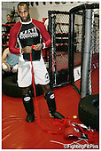 Jimi 'Poster Boy' Manuwa. Session 3. Keddles Gym. Sparring