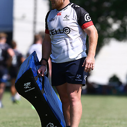 Lourens Adriaanse during The Cell C Sharks training session at Growthpoint Kings Park in Durban, South Africa. 14th March 2017(Photo by Steve Haag)<br /> <br /> images for social media must have consent from Steve Haag