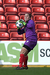 Bristol Academy's Mary Earps - Photo mandatory by-line: Paul Knight/JMP - Mobile: 07966 386802 - 21/03/2015 - SPORT - Football - Bristol - Ashton Gate Stadium - Bristol Academy v FFC Frankfurt - UEFA Women's Champions League