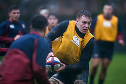 Richard Capstick of England Under 20s in action during training ahead of the Under 20s Six Nations - Mandatory by-line: Robbie Stephenson/JMP - 14/01/2020 - RUGBY - Loughborough University - Loughborough, England - England U20s Training