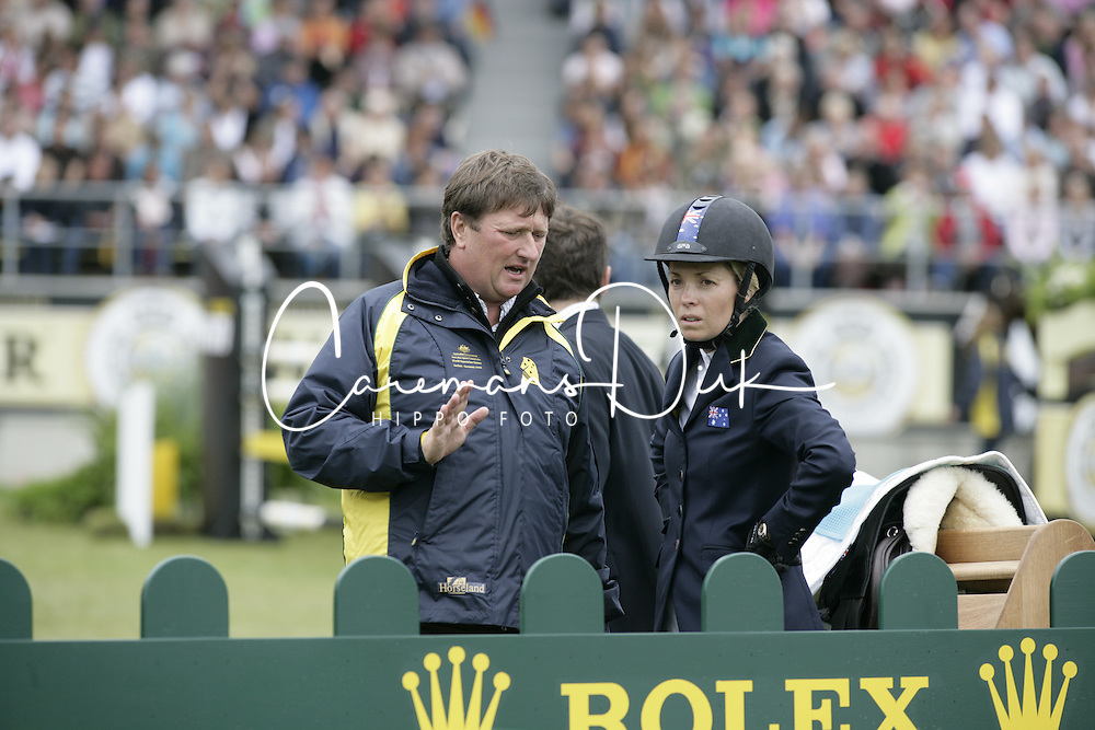 Edwina Alexander (AUS) and Jan Tops (NED)<br />
