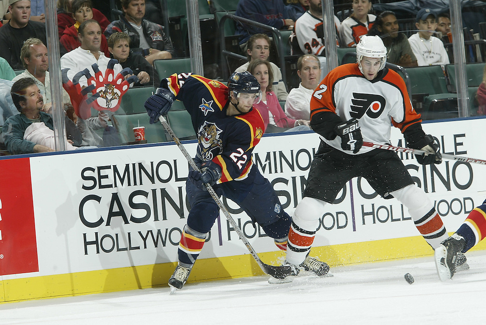 2003 NHL Archive<br /> <br /> Philadelphia Flyers @ Florida Panthers