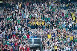 07.05.2011, Weserstadion, Bremen, GER, 1.FBL, Werder Bremen vs Borussia Dortmund, im Bild Laola Welle im Weser Stadion    EXPA Pictures © 2011, PhotoCredit: EXPA/ nph/  Kokenge       ****** out of GER / SWE / CRO  / BEL ******