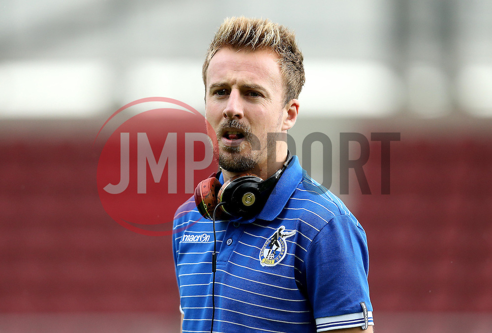 Chris Lines of Bristol Rovers arrives at Sixfields for the Sky Bet League One fixture with Northampton Town - Mandatory by-line: Robbie Stephenson/JMP - 01/10/2016 - FOOTBALL - Sixfields Stadium - Northampton, England - Northampton Town v Bristol Rovers - Sky Bet League One