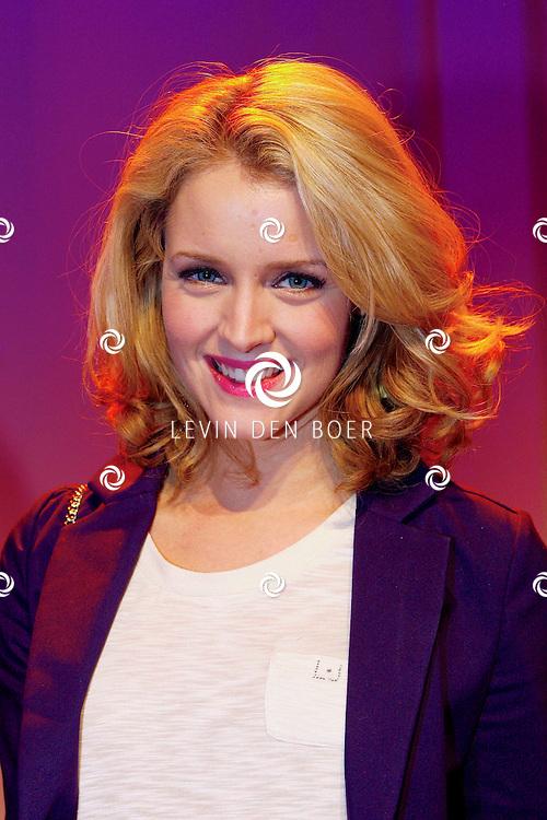 HILVERSUM - In Studio21 hield RTL5 de perspresentatie van hun nieuwe dagelijkse soap 'Malaika'.  Met op de foto actrice Liza Sips. FOTO LEVIN DEN BOER - PERSFOTO.NU