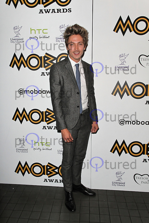LONDON - SEPTEMBER 17: Tyler James attended the Nominations Launch of the MOBO Awards at Floridita London, UK. September 17, 2012. (Photo by Richard Goldschmidt)