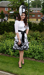AISHWARYA RAI BACHCAN at Day 1 of the 2013 Royal Ascot Racing Festival at Ascot Racecourse, Ascot, Berkshire on 18th June 2013.